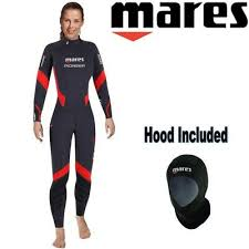 Mares Pioneer 5mm Wetsuit Size Chart Mares Ladies Pioneer 5mm Semi Dry Diving Wetsuit Ankle Wrist
