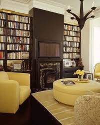 creative uses of ottomans as coffee tables