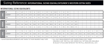Outback Trading Company Size Chart 66 Genuine Work Boot Size Chart