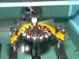 ceiling fan winding process