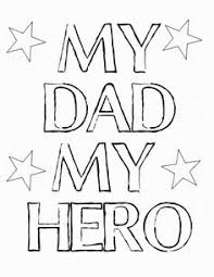 father s day card superhero outfit superhero dads and hero my dad my hero coloring father s day printable