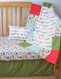 organic baby bedding set organic crib set organic toddler bedding set alphabet medley woodland animals organic crib beddding