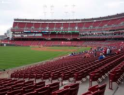 Great American Ball Park Section 109 Seat Views Seatgeek