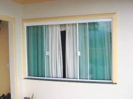 As janelas de alumínio com vidro são fundamentais para a estrutura e a transparência, além do material garantir luminosidade ao ambiente. Janela De Blindex Aluminio Vidro Temperado 1 50 X 3 00 Verde Mercado Livre