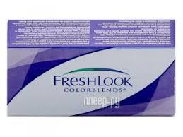 Купить <b>Alcon FreshLook</b> ColorBlends 2 (2 <b>линзы</b> / 8.6 / 0 ...