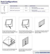 linear window actuators window openers rack linear actuator rack installation examples