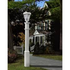 com sturbridge 5 x5 vinyl lamp post outdoor post lights garden outdoor