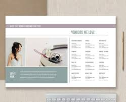 Vendor List Template Classy Vendor List Template Photography Marketing Templates Etsy