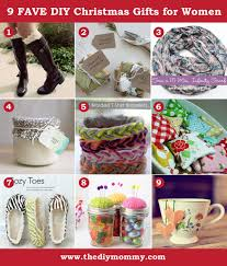 A Handmade Christmas: DIY Gift Ideas for Women by The DIY Mommy