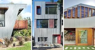 used metal siding 9 examples where corrugated steel has been used as siding architecture via metal