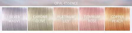 Wella Eos Color Chart Tint Wella Illumina Color Opal Essence