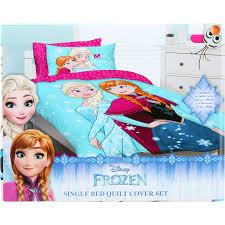 Disney Frozen Quilt Cover Set - Blue - Single   BIG W & Disney Frozen Quilt Cover Set - Blue - Single Adamdwight.com