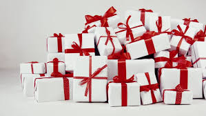 Gifts Background Mountain Gifts On White Background Stock Footage Video 100 Royalty Free 32475529 Shutterstock