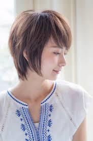面長に似合うショートの人気ヘアスタイルおしゃれな髪型画像 Stylistd