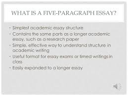 english composition five paragraph essay structure ppt  3 overview of structure purpose and parts of five paragraph essay