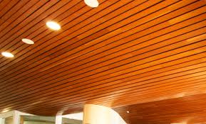 Wooden Ceilings wooden suspended ceiling strip linear rulon pany 5647 by guidejewelry.us