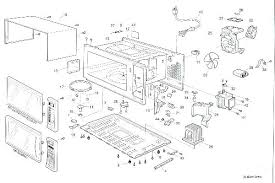 oster microwave replacement parts a breakdown of newer counter style oven oster microwave replacement parts