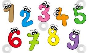 Image result for cartoon numbers