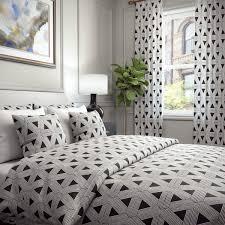 prefeial phoenix trellis geometric jacquard raised embroidery blended cotton duvetcover as wells as shams set phoenix