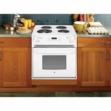 Appliances Range Ge Appliances Jm250dfww 27 Drop In Electric Range White