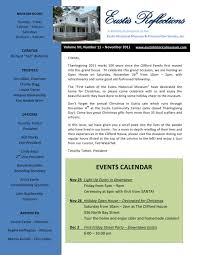 Light Up Eustis Eustis Historical Museum November 2011 Newsletter By Timothy
