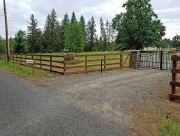 wood farm fence. Farm Fence Wood D