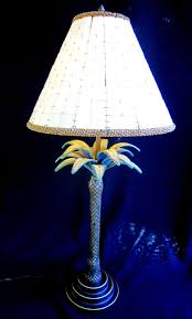 Bel Air Lighting Outdoor Palm Tree Table Lamp Palm Tree Lamp Vintage Palm Lamp Unique Lighting Rare