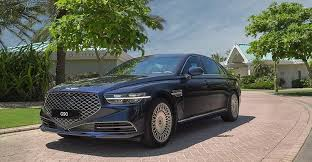 2020 Genesis G90 Arrives In The Middle East Dubai Abu