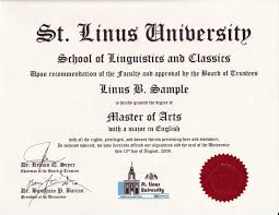 College Degree Certificates Templates As Download Sample Of Mba