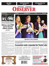 Quesnel Cariboo Observer July 10 2015 By Black Press Issuu