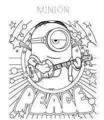 Seguro que te ries mucho con los pequeños minions y sus bromas. Despicable Me Minions Coloring Pages Playing Learning