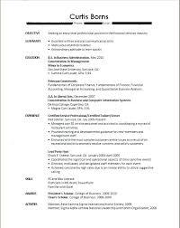 Recent College Grad Resume Samples Recent College Graduate Resume No Experience New College Graduate