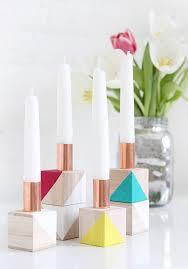 idiy candleholder steps what you need wooden blocks