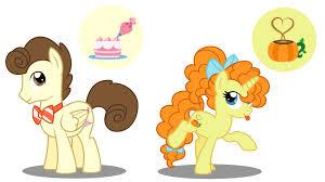 Pound Cake And Pumpkin Cake Ponies Mlp Pony Mlp Base