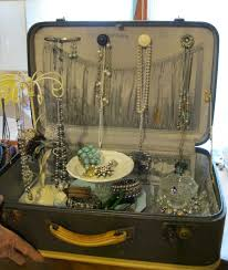 Old Suitcases Vintage Suitcase Ideas Vintage Suitcase Jewelry Box Old