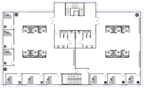Office floor layout Rectangle Office Layout Smartdraw Office Layout Planner Free Online App Download