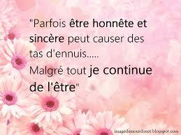 Image Damour Parfois être Honnête Et Sincère Peut Causer Des Tas