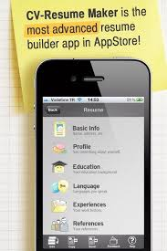 How To Make ResumeCV With Your IPhone Or IPad On The Go Snapguide Interesting Best Resume App