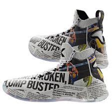 Anta KT4s Klay Thompson Newspaper Shoes