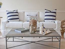 Slipcovered Furniture: Chairs, Sectionals & Sofas In Slipcover Fabrics  within Cottage Style Sofas