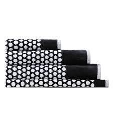 black and white bath towels. Home Republic - Eclipse Towel Black \u0026 White Bathroom Towels Adairs Online And Bath R