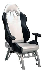 racechairscom office chair. PitStop GT Guest Chair - Silver Racechairscom Office