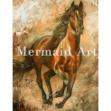 hand painted art oil paintings animal abstract art horse head oil painting on canvas for living room artwork home decoration in painting calligraphy from