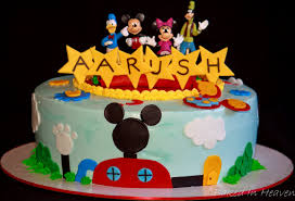 Baby Mickey Mouse Edible Cake Decorations Mickey Mouse Clubhouse Cake Baked In Heaven