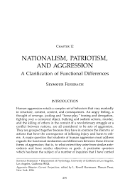 patriotism essays essay on bravery essay on bravery is life in  nationalism patriotism and aggression springer inside