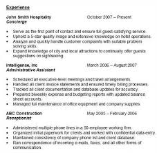 How To Write A Resume Experience Here is an example of