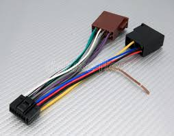 kenwood 16 pin iso lead power wiring harness cable 2 there are two types of iso the same plug but totally different wirings on the market for kenwood car stereos below is the other style we carry