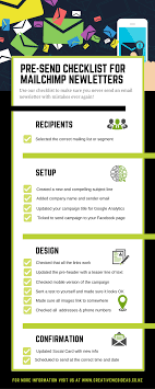 Email Design Checklist Email Newsletter Checklist Use Before Sending