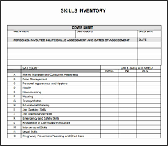 Funky Skills Inventory Template Embellishment - Resume Ideas ...
