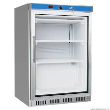 hr200g s s display bar fridge with glass door